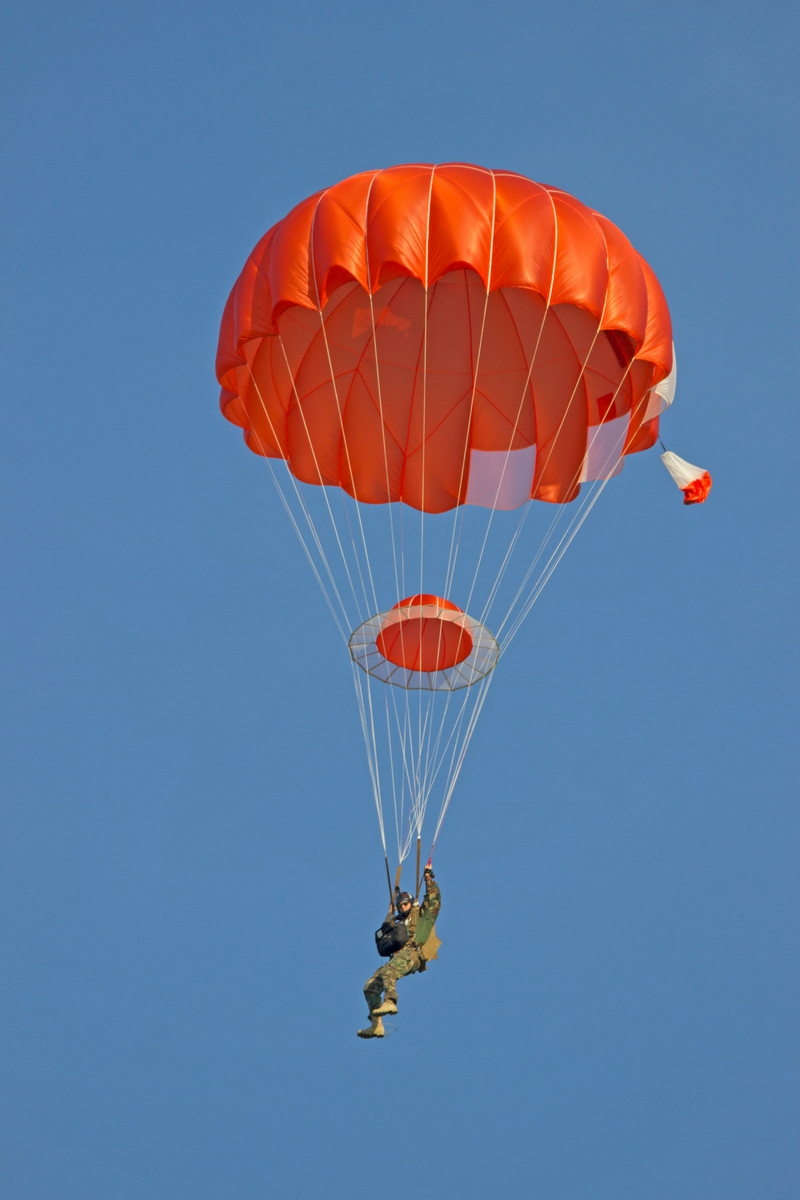 Butler HX-Series Canopies | Butler Parachute Systems