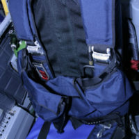Custom Integrated Survival Equipment for high altitude emergency bailout parachutes